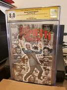 Marvel Fumetti Book 1signed By D.oand039neil W.simonsonclaremonts.lee Cgc 8.0