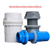 20/25/32/40/50mm U-pvc Fish Tank Inlet Outlet Water Pipe Fitting Joint Connector