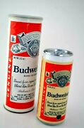 Vintage Budweiser Beer Can Telephone Push Button Phone Tested And Working W/ Box