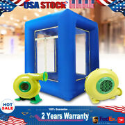 9ft Inflatable Cash Cube Money Machine W/ 2 Blowers Advertising Promotion
