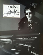 Elton John Signed 14x11 Photo Display Candle In The Wind Coa