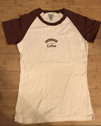New Rare 2008 Promo Andldquobaileys With A Hint Of Coffeeandrdquo Ladies Cut Soft Tee Sz L
