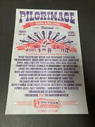 Pilgrimage Music Festival Inaugural Year 15 Franklin Not Hatch Show Print Poster