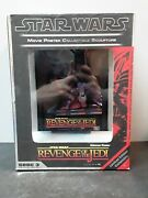 Star Wars Number 0484 Movie Poster Collectable Art Sculpture Revenge Of The Jedi