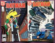 Batman 424 And 425. Dc 1988 1st Prints. Fn+ / Fnvf Condition Issues.
