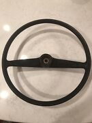 Austin Healey Bugeye Sprite Steering Wheel With Possibly No Cracks