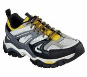 Menand039s Skechers Rx Fit Stak Ultra Treso Casual Shoes 66255 /ltgy Multi Sizes Gre