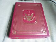 First Lady Nancy Reagan Signed - A Shining City - Easton Press Leather Ronald