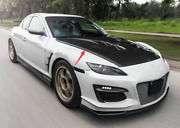 Carbon Fiber Nismo N1 Style Front Bumper Vents Duct For Mazda Rx8 Se3p Re