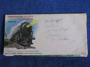 1958-'59 American Flyer By Gilbert Trains Cars Accessories Foldout Catalog