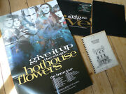 Hothouse Flowers Andlrmandndash Give It Up 12 Collectors Box Poster And Tour Diary Job Lot