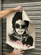 Mr Brainwash Michael Jackson King Of Pop Screen Print 184/250 Sold Out And Rare
