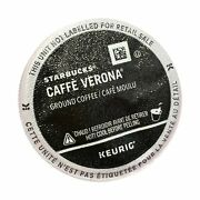 Starbucks Caffe Verona K-cups, 72 Count Packaging May Vary