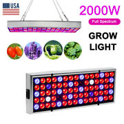 2000w 75 Led Hydroponic Plant Grow Light Panel Growth Lamp Kit For Greenhouse