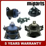 Front Rear Engine Motor Trans Mount Set 5pcs Fit For Acura Tl 3.2l 2004-2006