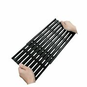 Rollgan Extension Cooking Grate Porcelain Steel Adjustable Replacement Bbq Gr...