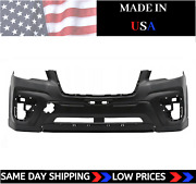 New Primed Front Bumper Cover For 2019-2021 Subaru Forester Ships Today