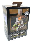 Mojang Mattel Minecraft Cave Biome Collection 1 Mining Mountain And Steve Pickaxe