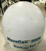 Sea Tell Wavecall 3000 Voice And Data Satellite Dome