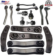 16pc Front Upper Lower Control Arm Tie Rod Kit 1999 2004 Jeep Grand Cherokee