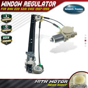 Window Regulator With Motor For Bmw E39 528i 540i 1997-1998 Rear Right