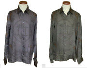 Authentic Hermes Women's Silk Shirt With Hermes Horse Bit And Chain Print