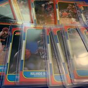 1986-87 Fleer Basketball - Cards 1-132 - Choose From The List
