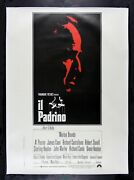 The Godfather ✯ Cinemasterpieces Rare Italian Original Huge Movie Poster 1970and039s
