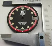 Tag Heuer Black Dial Professional 200 Meters Part Index Watch Dial Swiss Made