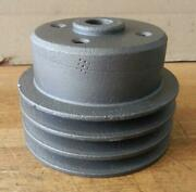 Clark Forklift Continental Engine Used Water Pump Pulley F4293 4-1/8 Diameter