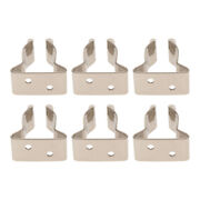 6 Pieces New Rustproof 304ss Marine Boat Canoe Snap Hook Holding Clips Clamp