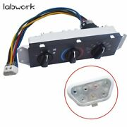 55037473ab Hvac A/c Heater Control With Blower Motor Switch For Jeep Wrangler Tj