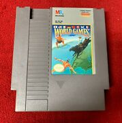 World Games Nes {cleaned And Tested} [works Great] Rare Quality