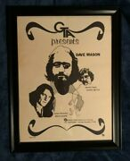 Allman Brothers Dickey Betts Dave Mason Brian Auger Poster Framed Rare