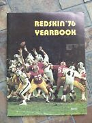 Washington Redskins Football Team 1976 Yearbook Excellent Condition