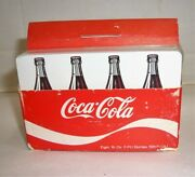 Vintage Coca-cola Cards In Carrier Unopened For A J.harold Ford Card Truck