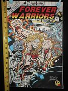 Forever Warriors 1 - Original Art - Rich Buckler And George Perez - Kirby Homage