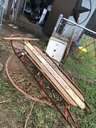 Vintage K Champion Ice Sled  Great Condition