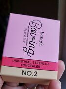 Benefit Boi-ing Industrial Strength Concealer In No. 2 Full Size New In Box