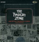 Twilight Zone Archives 2020 Edition Collector Card Case 12 Box 2 Autographs