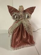 Telco Motionette Christmas Angel Tree Top Table Decoration