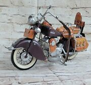 Collectible Home Office Decor Indian Motorcycle Hand Painted Masterpiece Sale