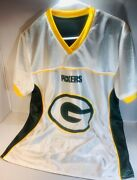Green Bay Packers Reversible Nfl Football Jersey Menand039s Womenand039s Adult Small