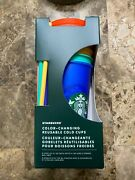 Starbucks Color Changing Cups Cold 5 Pack 2020 Edition Nib Sold Out