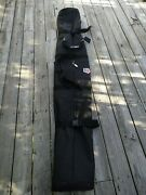Travel Ski Carrying Case With Wheels Team Usa Fully Padded Black