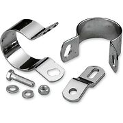 Drag Specialties - 14-0546-bc251 - Midway Exhaust Mounting Kit Harley-davidson W