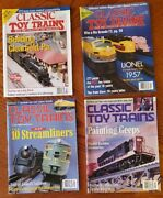 1997-1998 Classic Toy Trains Magazine Clearfield Train Barn Cut Out Crates Geeps