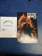 Dr Who 1 9th Ninth Doctor Rare Buy Me Cover A Variant Signed