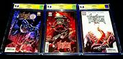 Venom 3 1st Var. And 3rd Print - Knull First App. Cgc 9.8 Ss Signed Cates Nm/mt