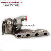 Fit For 2010-2018 Audi A6 A7 A8 079145703e Left Turbocharger Turbo Chargers 4.0t